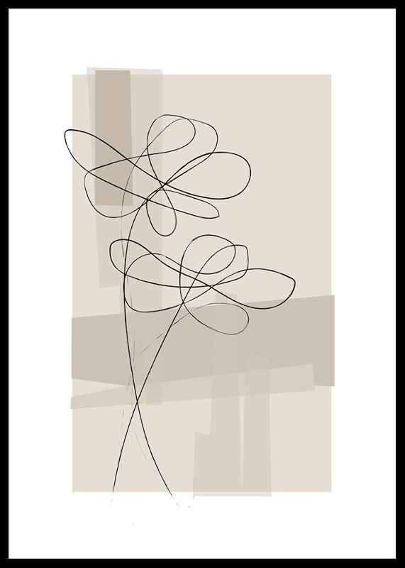 Abstract Flower No1