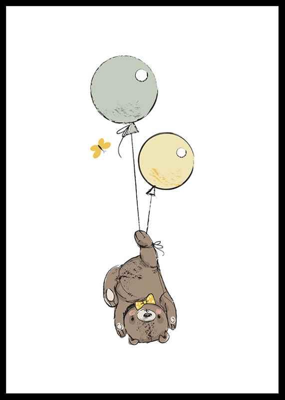 Animals And Balloons No3-0
