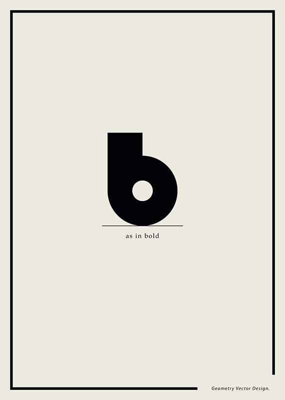 B As In Bold-1