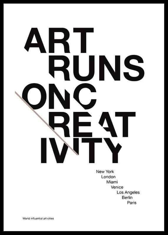 Art Runs On Creativity