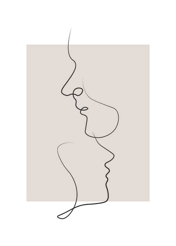 Shapes Line Art No3-1