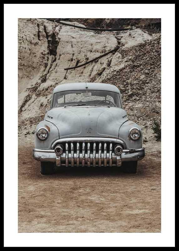 Vintage Rusty Car-0