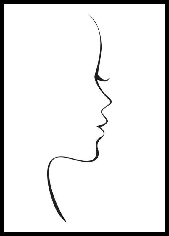 Line Art Siluette-0