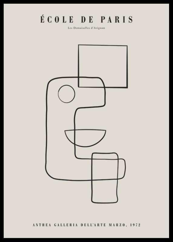 Picasso Cubisme Et Lignes-0