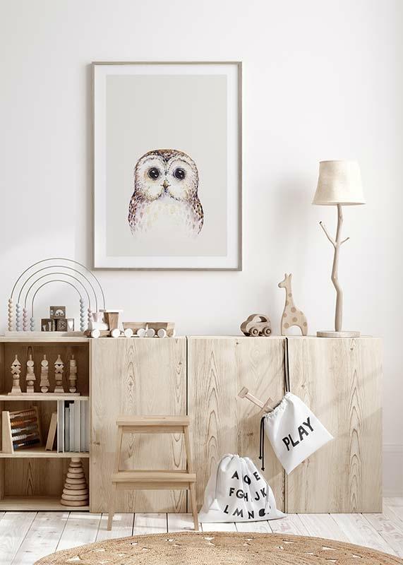 Peekaboo Owl-4