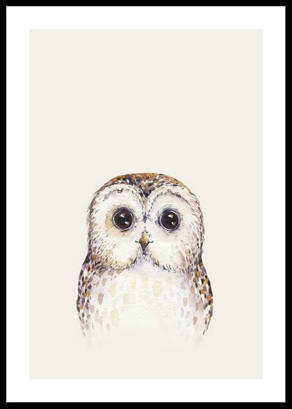 Peekaboo Owl