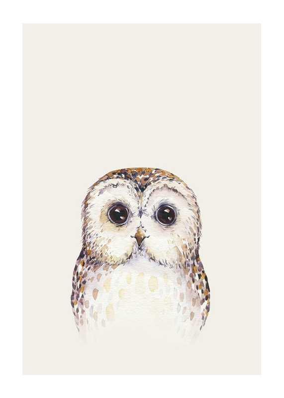 Peekaboo Owl-1