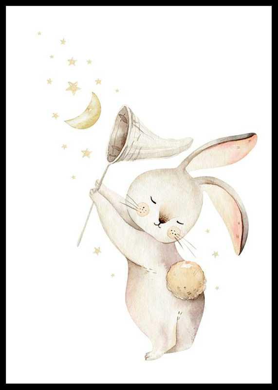 Bunny Catching Stars-0