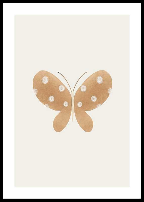 Brown Butterfly-0