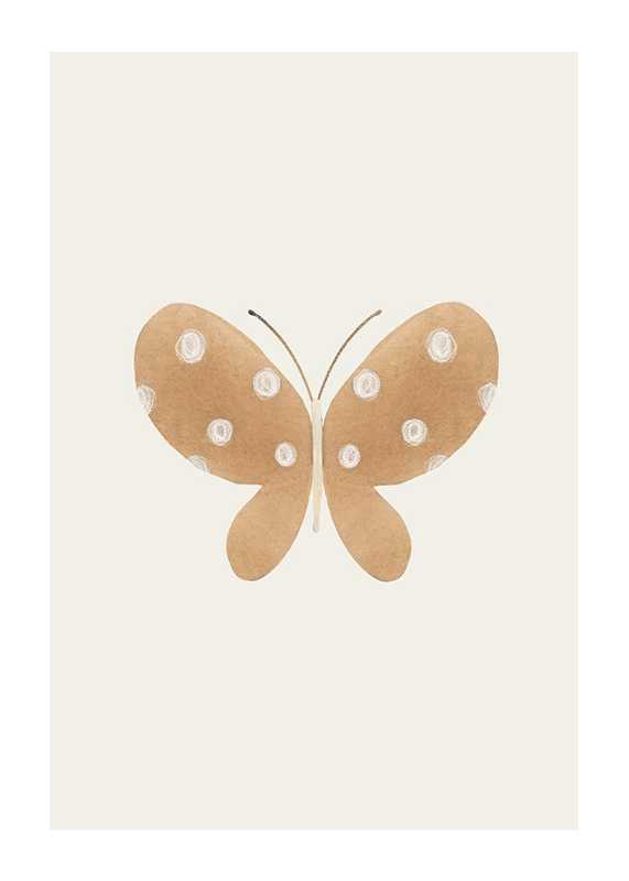 Brown Butterfly-1