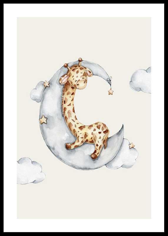 Sleeping Giraffe