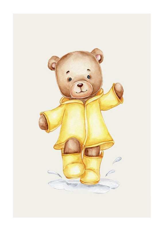 Raincoat Teddy-1