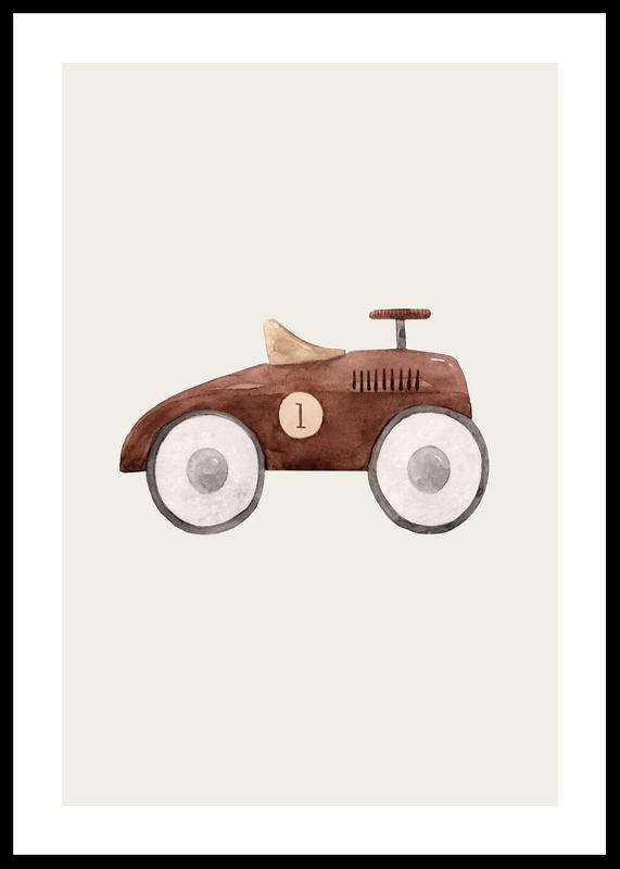 Brown Toy Car