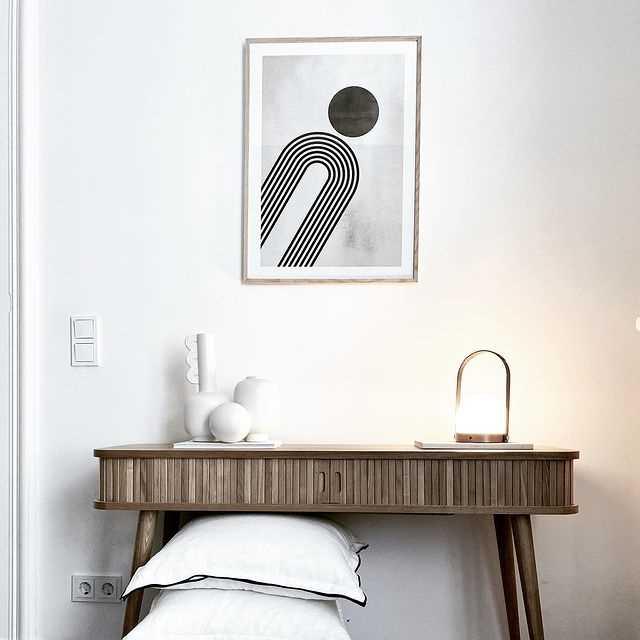 Combinez des posters avec des meubles