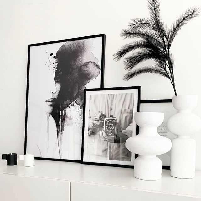 Affiches Noir et Blanc